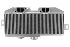 Mishimoto Top Mount Intercooler Silver/Red (Part Number: MMTMIC-STI-08SLRD)