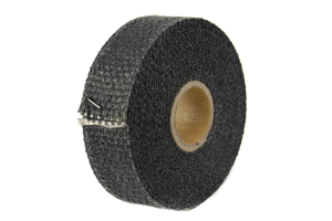 Thermo Tec Exhaust / Header Wrap Graphite Black 1in x 15ft (Part Number: )