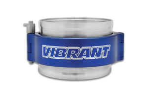 Vibrant Performance HD Clamp System Assembly Anodized Blue - Universal