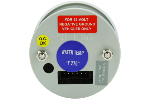 ProSport Performance Series Water Temperature Gauge ( Part Number:PRS 216BFWBWTSM.F)