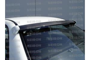 Seibon Carbon Fiber Rear Roof Spoiler - Subaru WRX 2006-2007 / STI 2006-2007