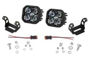Diode Dynamics SS3 Pod Max Spot Light Kit White - Universal