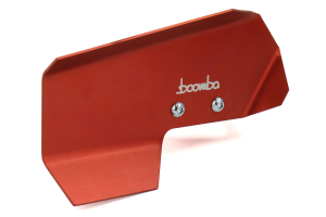 Boomba Racing Aluminum Dipstick Handle Red - Subaru WRX 2015+