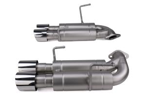 cp-e Austenite Axle Back Exhaust w/ Polished Tips - Subaru WRX / STI 2015 - 2020