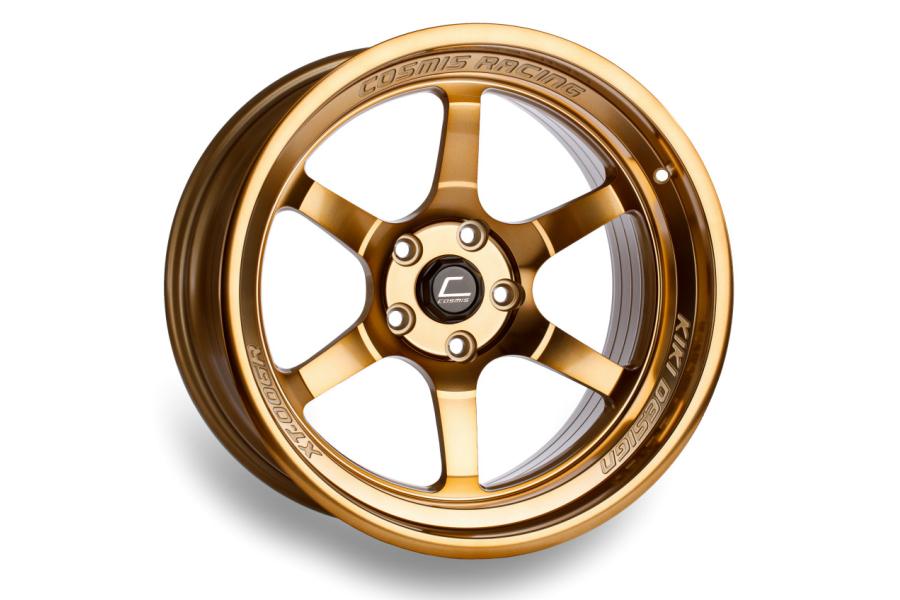 Cosmis Racing XT006R 18x9 +30 5x114.3 Hyper Bronze - Universal