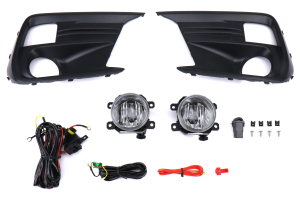 Winjet Fog Light Kit Clear - Subaru WRX / STI 2018+