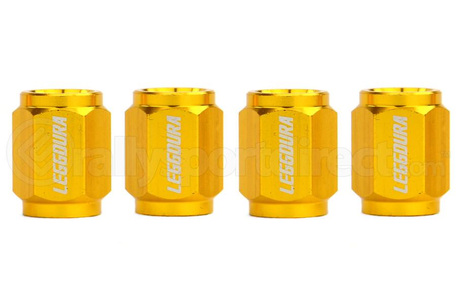 KICS Leggdura Racing Gold Valve Cap (Part Number:WCKIVA)