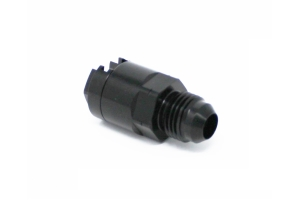 Torque Solution Locking Quick Disconnect Adapter Fitting 3/8in SAE to -8AN Female - Universal