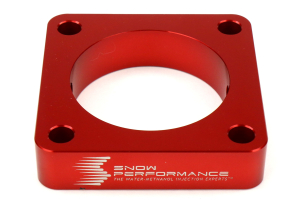 Snow Performance Throttle Body Spacer Injection Plate - Mitsubishi Evo X 2008-2015
