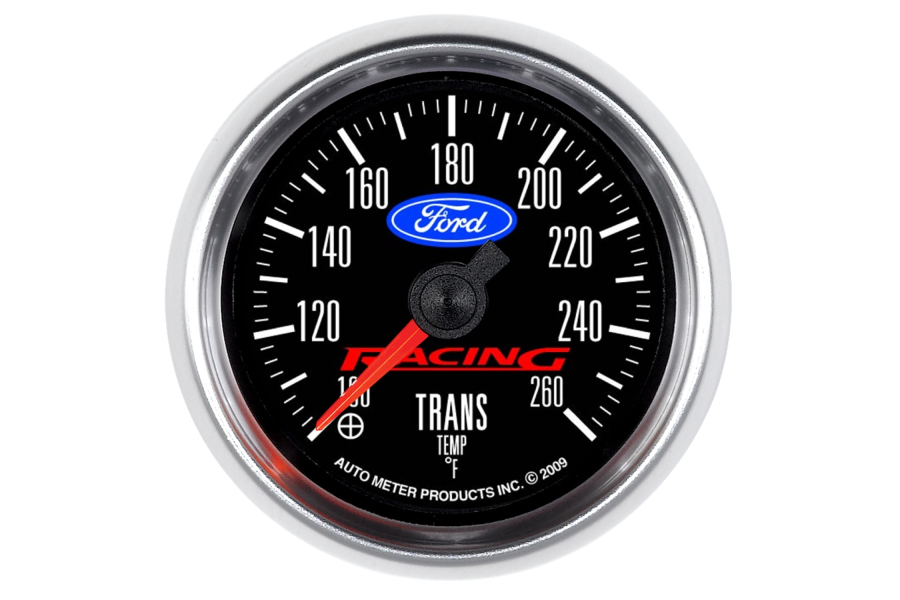 Autometer Ford Racing Transmission Temperature Gauge Electrical 52mm - Universal
