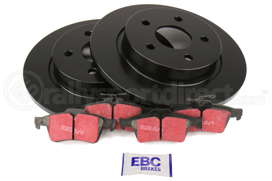 EBC Brakes S1 Rear Brake Kit Ultimax2 Pads and RK Rotors - Ford Focus ST 2013+