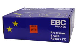 EBC Brakes USR Sport Slotted Front Brake Rotors - Mitsubishi Evo 8/9 2003-2006