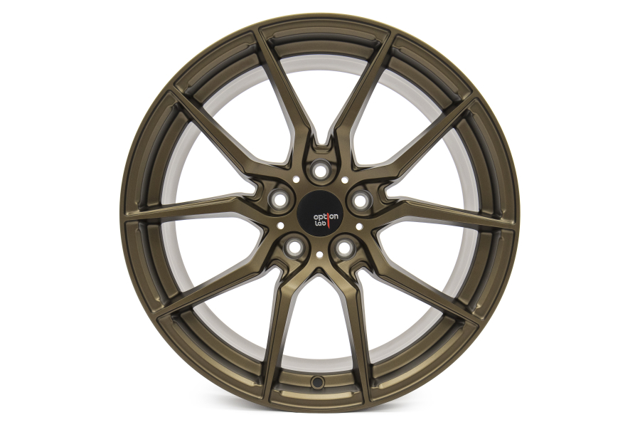 Option Lab Wheels R716 18x9.5 35mm 5x114.3 Formula Bronze - Universal