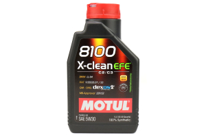 Motul 8100 X-Clean EFE 5W30 1L (Part Number: )