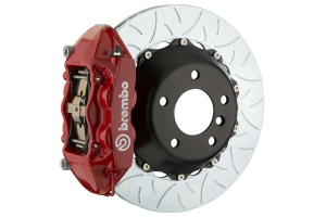 Brembo GT Systems 4 Piston Rear Brake Kit Red Slotted - Ford Mustang EcoBoost 2015+
