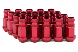 Gorilla Aluminum Open End Red Lug Nuts 12x1.50 (Part Number: )