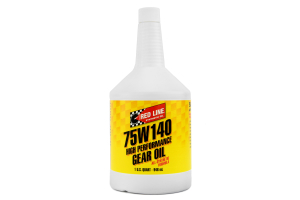 Red Line 75W140 GL-5 Gear Oil 1 Quart ( Part Number: 57914)
