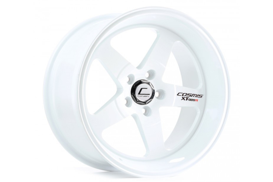 Cosmis Racing Wheels XT-005R 18x9 +25 5x114.3 White - Universal