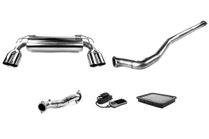 COBB Tuning Stage 2 Power Package with Quad Tip Exhaust - Mitsubishi Evo X 2008-2015