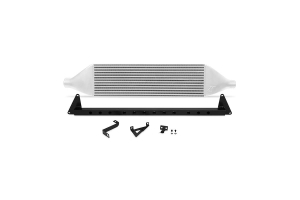 Mishimoto Front Mount Intercooler and Crash Beam Silver  - Subaru STI 2008-2014
