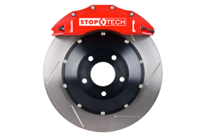 Stoptech ST-60 Big Brake Kit Front 355mm Red Slotted Rotors ( Part Number:STP 83.842.6700.71)