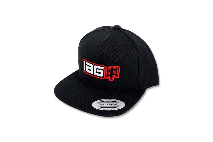 IAG Boxer Logo Embroidered Snapback Cap - Universal
