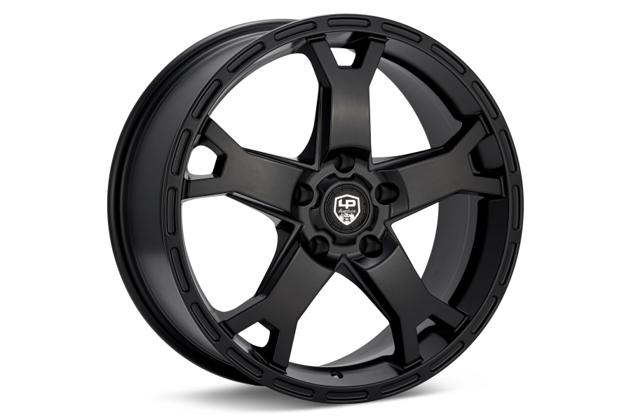 LP Aventure LP2 Wheel 17x8 +20 5x100 Black - Universal