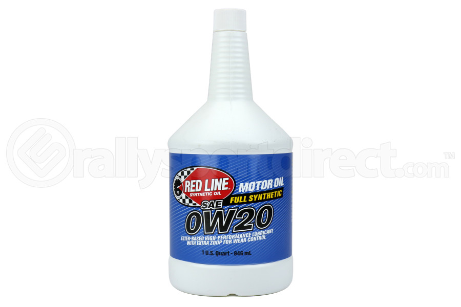 Red Line 0W20 Motor Oil 1QT (Part Number:11804)