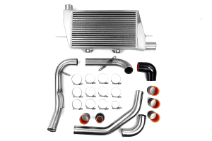 ETS Front Mount Intercooler Brushed Piping Silver Core  ( Part Number: 200-08)