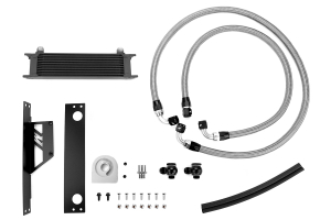 Mishimoto Oil Cooler Kit Black - Subaru WRX/STI 2002-2005