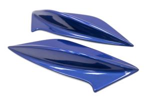 OLM STI Spoiler Side Fins Paint Matched - Subaru WRX / STI 2015+