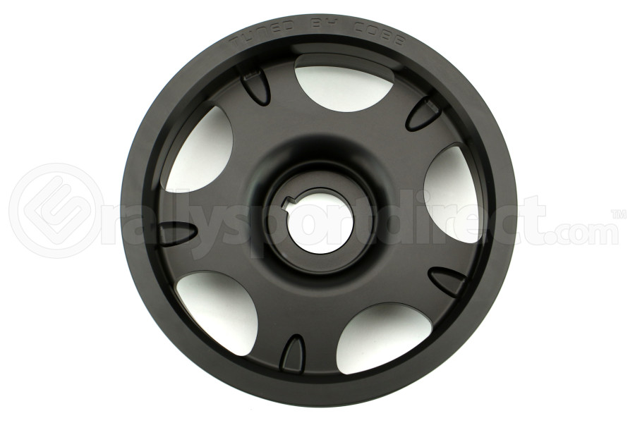 COBB Lightweight Crank Pulley Black (Part Number:300102BK)