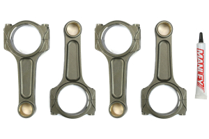 Manley Performance Pro Series Turbo Tuff I-Beam Connecting Rod Set ( Part Number: 14416R6-4)