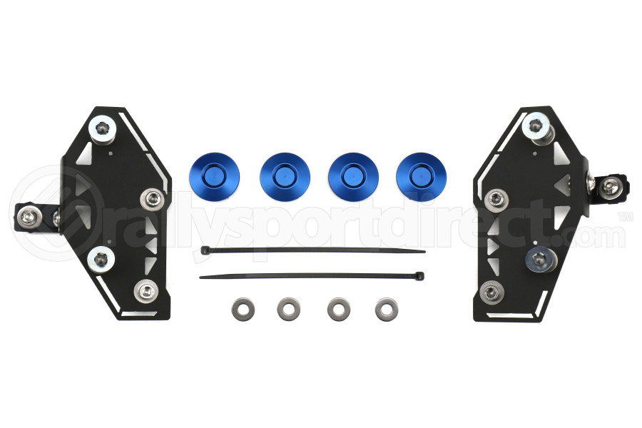 Move Over Racing Bumper Kit No Logo- Blue  - Subaru WRX/STI 2015+