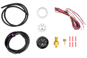 AEM Electronics Boost Gauge 2.4Bar Metric Analog 52mm - Universal