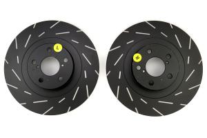 EBC Brakes USR Series Sport Slotted Front Brake Rotors - Subaru Models (inc. 2002-2007 WRX / 2003-2008 Forester)