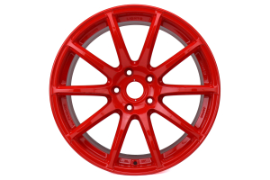 Gram Lights 57Transcend 18x9.5 +38 5x114.3 Red - Universal