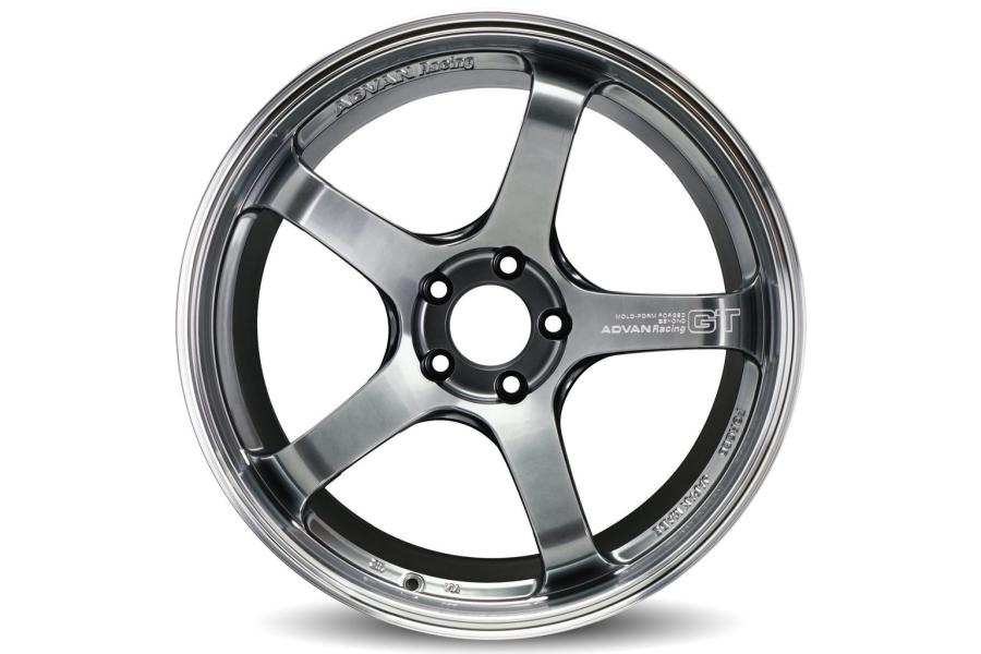 Advan GT Beyond 19x9.5 +38 5x114.3 Machining and Racing Hyper Black - Universal