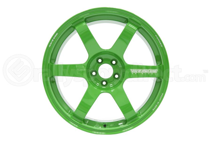 Volk TE37 SAGA 18x9.5 +43 5x100 Takata Green - Universal