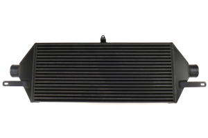 ETS Front Mount Intercooler Core 3.5in Black w/ White Logo - Subaru STI 2015 - 2020
