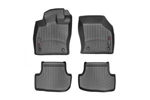 Weathertech Floorliners Black Front and Rear - Volkswagen Golf/GTI (Mk7) 2015+ / Audi A3/S3 2015+