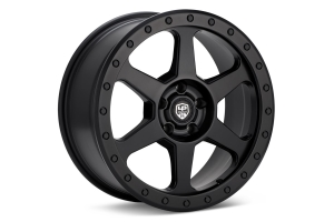 LP Aventure LP3 Wheel 17x8 +38 5x100 Matte Black - Universal