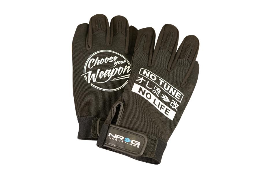 NRG Innovations Mechanic Gloves (Multiple Color Options) - Universal