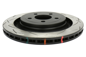 DBA 4000 Series Slotted Rotor Pair Rear (Part Number: )
