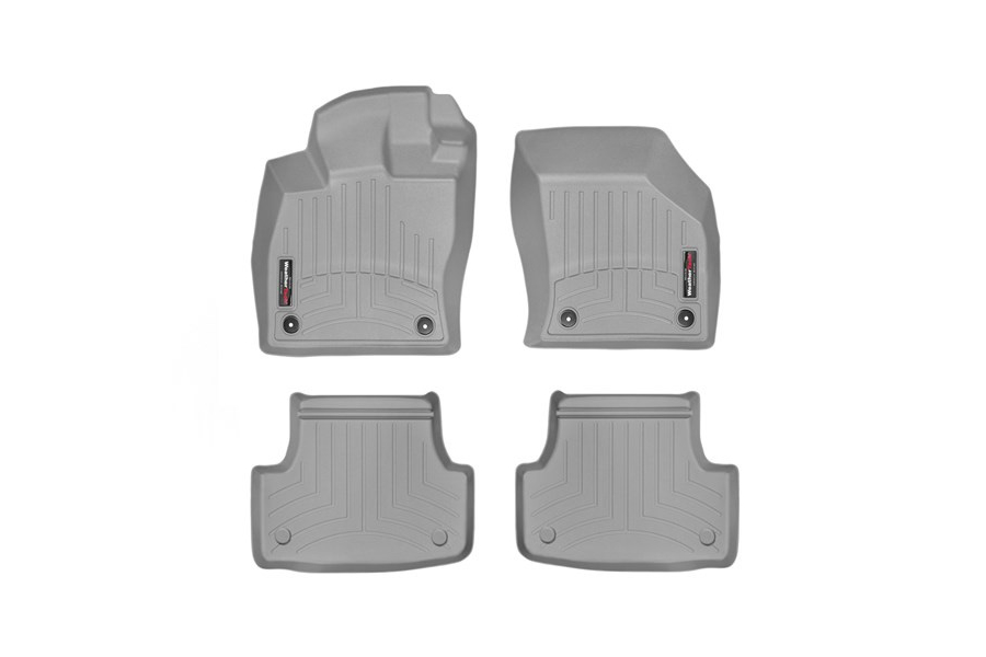 Weathertech Floorliners Grey Front and Rear - Volkswagen Golf/GTI (Mk7) 2015+ / Audi A3/S3 2015+