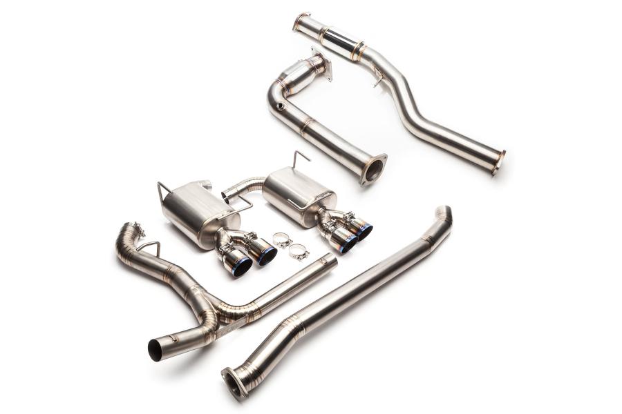 COBB Tuning Turboback Exhaust Titanium Non-Resonated - Subaru WRX 2015+
