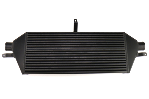 ETS Front Mount Intercooler Core Black w/ White ETS Stencil - Subaru STI 2008 - 2014