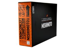 Mishimoto Top Mount Intercooler Kit Silver w/ Polished Charge Pipe - Subaru WRX 2015+