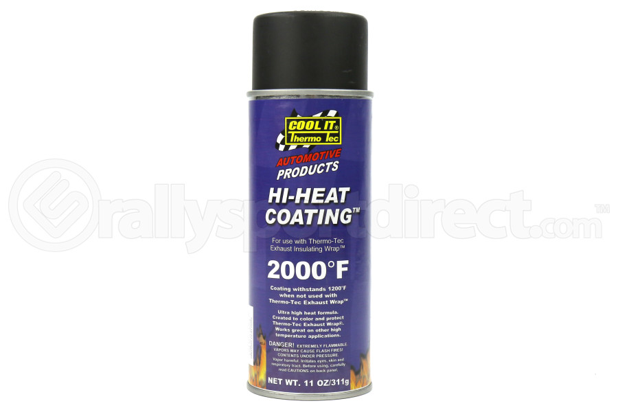 Thermo Tec High Heat Wrap Coating Black (Part Number:12001)