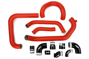 PERRIN Boost Tube Kit Red Piping Black Couplers ( Part Number:PER2 PSP-ITR-438-2RD/BK)